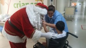 Papai Noel no Hospital Icaraí