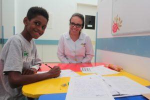 Classe hospitalar do HPM - Macaé/RJ Foto: Ana Chaffin