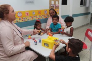 Classe hospitalar do HPM Macaé/RJ. Foto: Ana Chaffin.