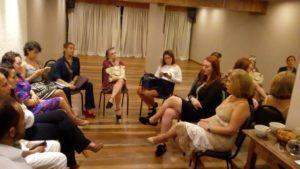 Maria Emília, presidente da Aboz, falou sobre a ozonioterapia para profissionais do SPA Maria Bonita (Foto: Divulgação)