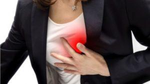 mulher e infarto