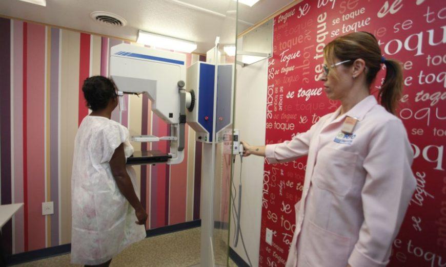 mamografia na rede pública do Rio