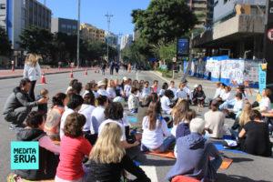 Medita na Rua em São Paulo