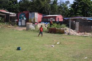 Foto feita por criança do antigo lixão de Gramacho
