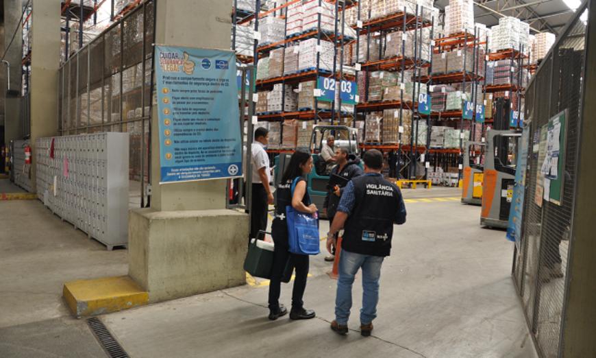 Fiscalização em supermercados após greve dos caminhoneiros