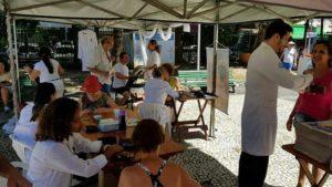 Equipe Saúde Plena leva conhecimentos e autocuidado a colaboradores de empresas (Foto: Divulgação)