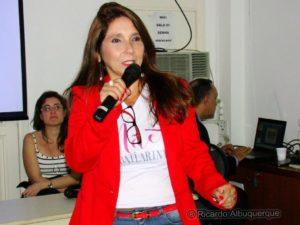 Rosayne Macedo, editora do Vida & Ação