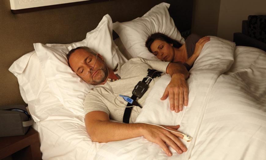 Equipamento mede apneia do sono