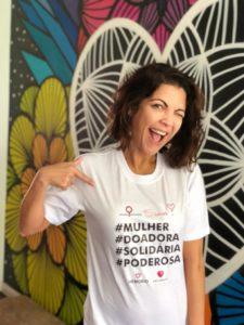 Thalita Rebouças é madrinha da campanha Mulheres + Solidárias