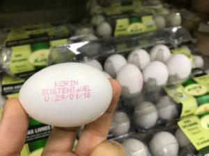 ovos sustentáveis
