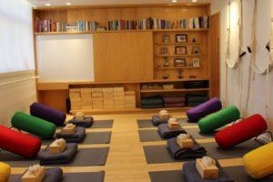 Aula de Yoga Restaurativa