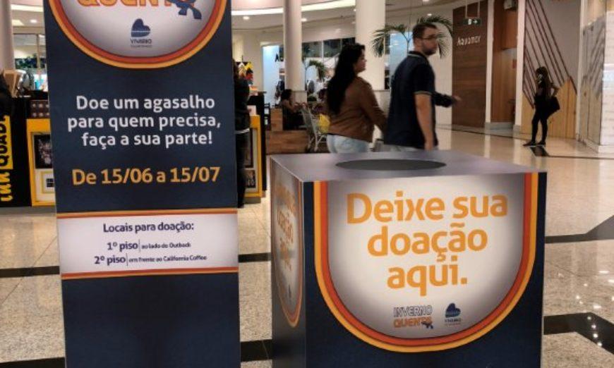 Campanha do Agasalho no Carioca Shopping foto 11