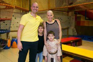 Luciana e família