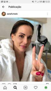 Ana Furtado enfrenta câncer de mama