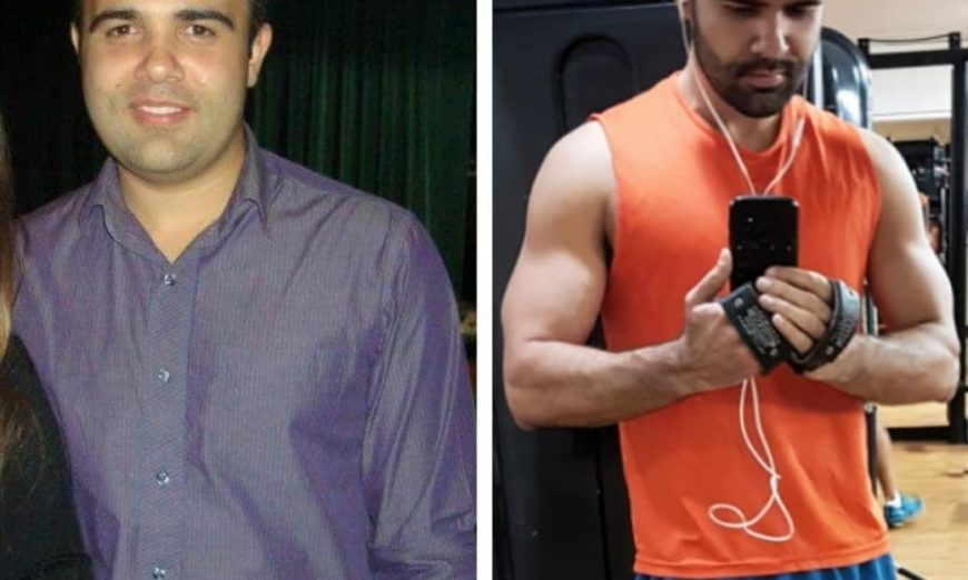 Roberto Garcia, antes e depois