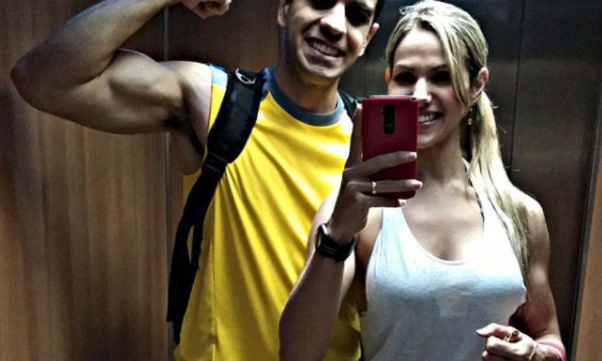 Juliana e Thiago - Thinkfit - Arquivo pessoal
