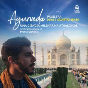 convite palestra ayurveda