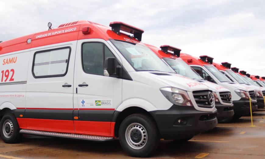 Samu 192 ganha reforço com novas ambulâncias - ViDA & Ação